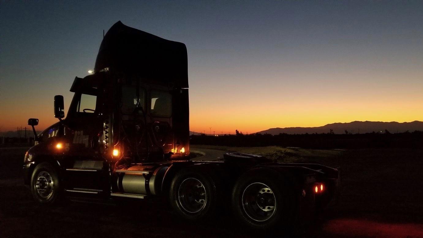 summer trucking