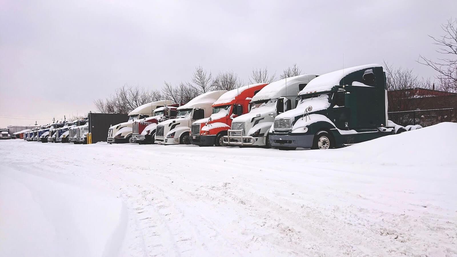 winter trucking